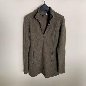 Ibex Backbay Tunic Merino Wool Jacket